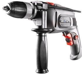 58G717, Дрель ударная 750 Вт, самозажимной патрон 13 мм