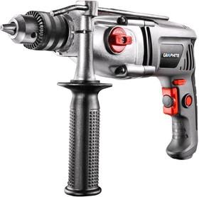 58G718, Дрель ударная 810 Вт, 2 скорости, ключевой патрон 13 мм