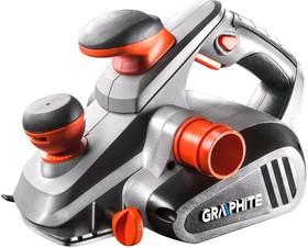 59G678, Рубанок электрический 850 Вт, глубина строгания 0-3 мм