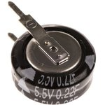 Фото 3/6 EECS0HD224V, ионистор 0.22Fx5.5V -25+70Cсерия SD табл.тип(Panasonic)
