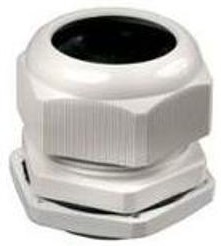 PG-63, Ввод кабельный белый, нейлон 6.6, IP54