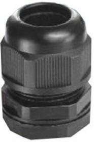 MG-20, Ввод кабельный черный, нейлон 6.6, IP68