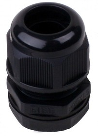 MG-25, Ввод кабельный черный, нейлон 6.6, IP68