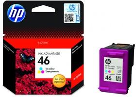 Картридж HP 46 многоцветный [cz638ae]