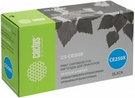 Картридж CACTUS CS-CE250X черный