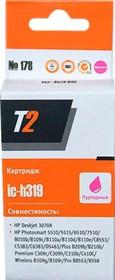 Картридж T2 CB319HE 178 IC-H319, пурпурный