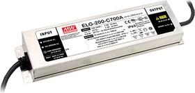 Фото 1/2 ELG-200-C700A, AC/DC LED, блок питания для светодиодного освещения