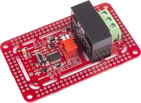 Фото 1/2 NeoRelay1, Интеллектуальный адресный одноканальный релейный модуль для Arduino, Raspberry Pi проектов