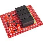 NeoRelay4, Интеллектуальный адресный четырехканальный релейный модуль для Arduino, Raspberry Pi проектов