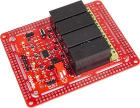 Фото 1/2 NeoRelay4, Интеллектуальный адресный четырехканальный релейный модуль для Arduino, Raspberry Pi проектов