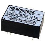 Фото 2/2 RDD05-03S2, DC-DC преобразователь, 5Вт, вход 18-36В, выход 3.3В/1.5A