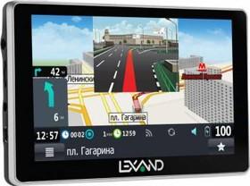 """GPS навигатор LEXAND SA5+, 5"""", авто, 4Гб, Navitel 8.7 с расширенным пакетом картографии, черный"""