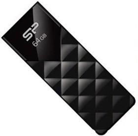 Флешка USB SILICON POWER Ultima U03 64Гб, USB2.0, черный [sp064gbuf2u03v1k]