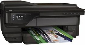 МФУ HP OfficeJet 7612, A3, цветной, струйный, черный [g1x85a]