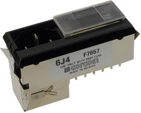 6609125-1, IEC фильтр, 0.011 мкФ, 250 В AC, Универсальный, 6 А, Быстрое Соединение, 465 мкГн
