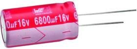 Фото 1/2 860130475008, Электролитический конденсатор, 470 мкФ, 25 В, WCAP-ATET Series, ± 20%, Радиальные Выводы, 10 мм