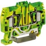 HTE.4, зажим для заземления, 4 кв.мм желто-зеленый   ZHT250   DKC