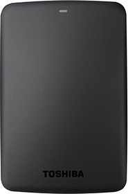 Внешний жесткий диск TOSHIBA CANVIO BASICS HDTB310EK3AA, 1Тб, черный