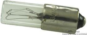 130MB, LAMP, INCANDESCENT, BA9S, 130V, 3.25W