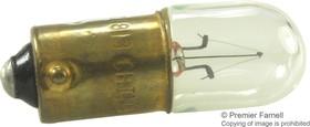 1813, LAMP, INCANDESCENT, MINI BAYONET/BA9S, 1.44W