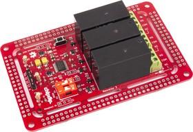 Фото 1/2 NeoRelay3, Интеллектуальный адресный трехканальный релейный модуль для Arduino, Raspberry Pi проектов