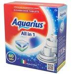 Таблетки для ПММ Aquarius ALLin1 mega 60 штук 4660002311137