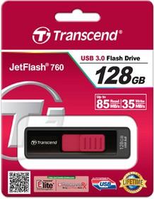 Флеш Диск Transcend 128Gb Jetflash 760 TS128GJF760 USB3.0