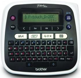 PTD200VPR1, Принтер для печати наклеек PT-D200 (с кейсом для переноски)