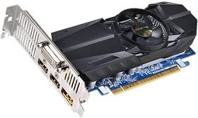 Видеокарта GIGABYTE GeForce GTX 750Ti, GV-N75TOC-2GL, 2Гб, GDDR5, Low Profile, OC, Ret