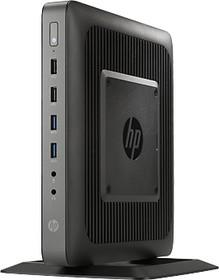 Тонкий Клиент HP t620, AMD GX-217GA, DDR3L 4Гб, 8Гб(SSD), AMD Radeon HD 8280E, HP ThinPro, черный [g6f23aa]