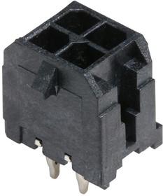44914-0401, Разъем типа провод-плата, 3 мм, 4 контакт(-ов), Штыревой Разъем, Micro-Fit 3.0 CPI 44914 Series