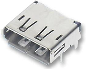 47272-0024, Цифровой аудио разъем DisplayPort, 20 контакт(-ов), Гнездо, Монтаж на Печатную Плату