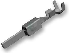 Фото 1/3 1-965982-1, Прямоугольный контакт питания, 0.2-0.5мм2, HDSC MCP 2.8 Series, Контакты с Покрытием из Олова