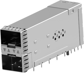 2349202-6, SFP56 STACKED 2X1 RECEPTACLE ASSEMBLY 22AH5068