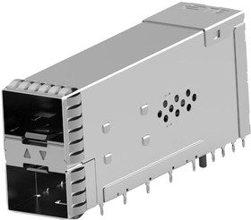 2349202-7, SFP56 STACKED 2X1 RECEPTACLE ASSEMBLY 22AH5069