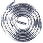 (ПОС-61) припой ПОС 61 с канифолью, спираль, диаметр 2.0 мм, 10 гр