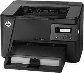 Принтер HP LaserJet Pro M201n, лазерный, цвет: черный [cf455a]