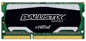 Модуль памяти CRUCIAL Ballistix Sport BLS4G3N169ES4CEU DDR3L - 4Гб 1600, SO-DIMM, Ret
