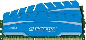 Модуль памяти CRUCIAL Ballistix Sport BLS2C4G3D18ADS3CEU DDR3 - 2x 4Гб 1866, DIMM, Ret