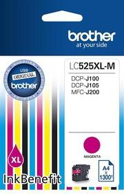 Картридж BROTHER LC525XLM пурпурный