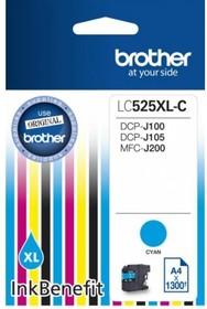 Картридж BROTHER LC525XLC голубой