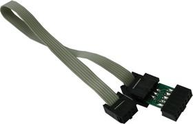 AVR-ICSP, Кросс соединительный кабель 6 - 10 pin