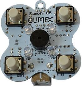 Фото 1/2 SIMON-85, Отладочная плата на базе ATtiny85 (Digispark's Arduino)