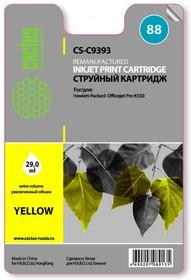 Картридж CACTUS CS-C9393 №88, желтый