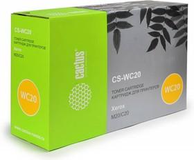 Картридж CACTUS CS-WC20 106R01048, черный