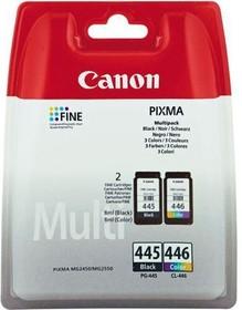 Набор картриджей CANON PG-445/CL-446 8283B004, многоцветный / черный