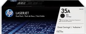 Двойная упаковка картриджей HP 35A черный [cb435af]