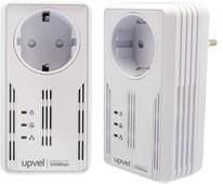 Сетевой адаптер HomePlug AV UPVEL UA-252PSK Ethernet