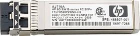 Трансивер HP MSA 2040 8Gb SW FC SFP 4 Pk (C8R23A)