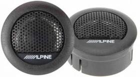Колонки автомобильные ALPINE SXE-1006TW, твитер, 280Вт